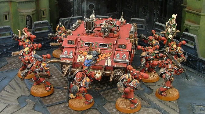 1500 points Battle Report – Word Bearers vs Imperial Guard Penal Legion!