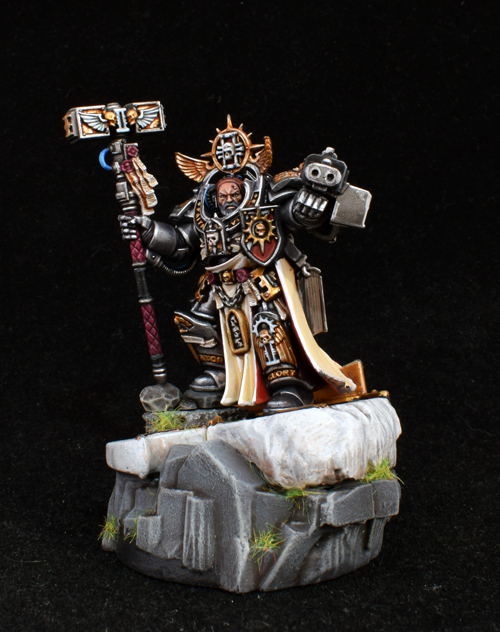 Grand Master Voldus Of The Grey Knights Hall Of Honour