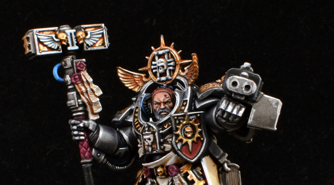 Grand Master Voldus of the Grey Knights