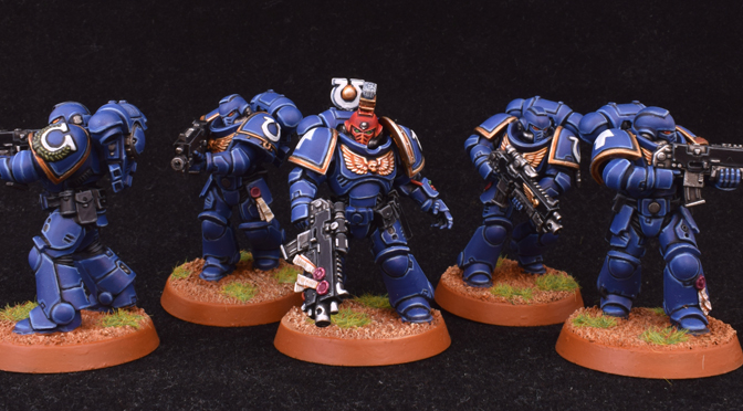 First Intercessor Squad Complete