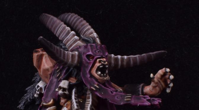 More Beastman Shaman Work in Progress