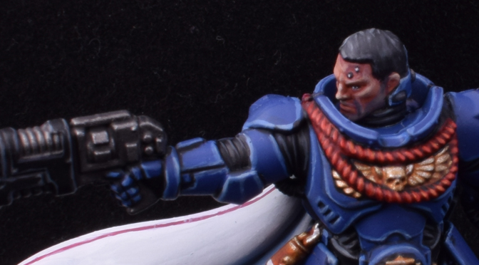 Primaris Captain – WIP 2