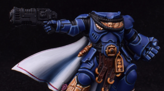 Limited Edition Ultramarines Captain – WIP