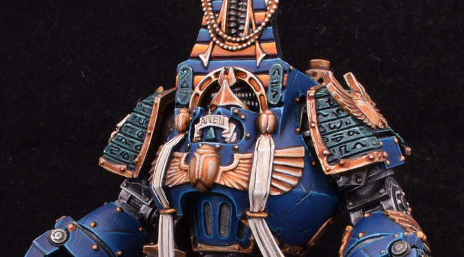 Thousand Sons Psychic Contemptor Dreadnought