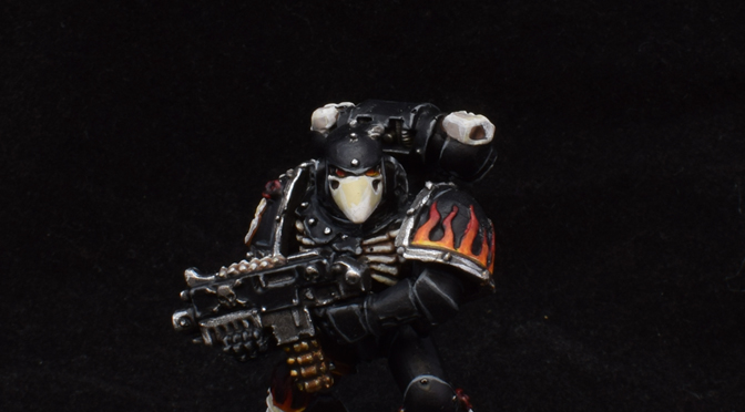 Fourth Legion of the Damned marine