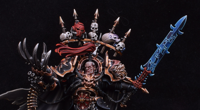 Abaddon the Despoiler – Warmaster of Chaos