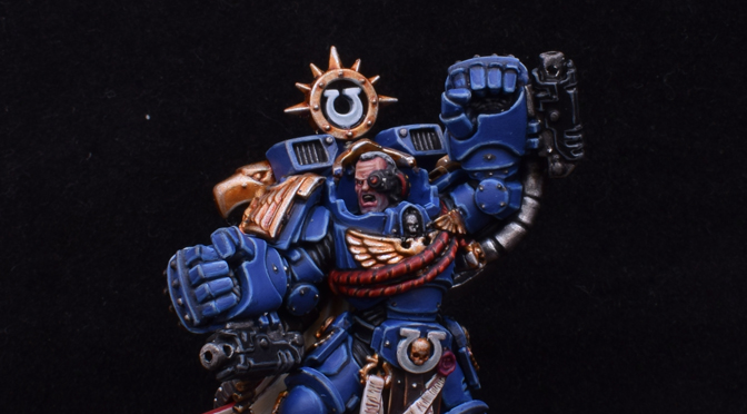 Marneus Calgar. Chapter Master of the Ultramarines