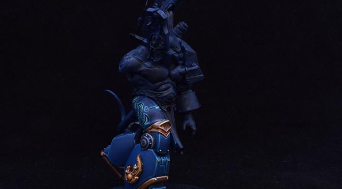 Contemptor Daemon Prince WIP – 1