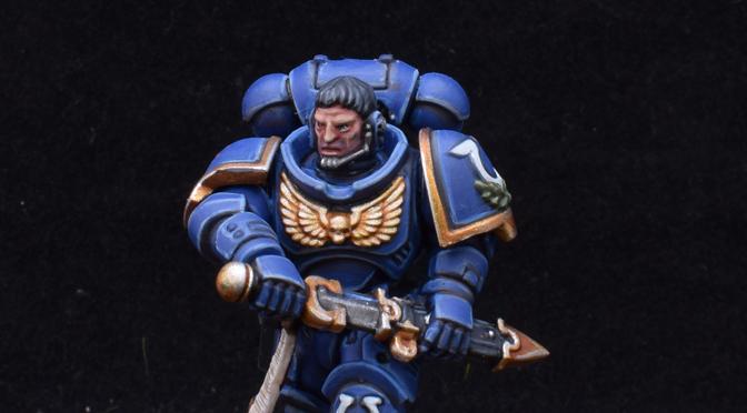 Ultramarine Lieutenant