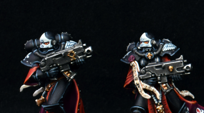 First Adeptus Sororitas Squad