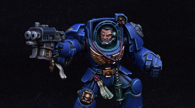 Space Marine Heroes – Ultramarine Terminator