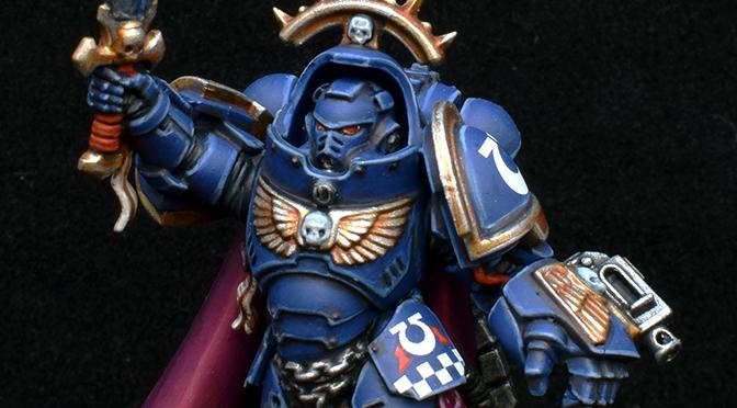 Dark Imperium Challenge – Gravis Armoured Captain