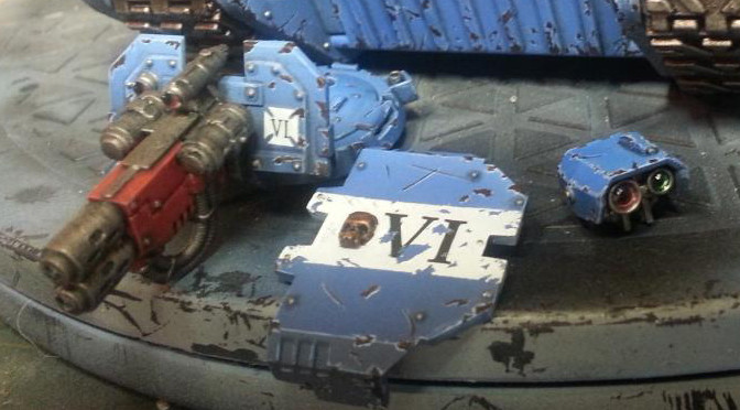 Painting Guide – Chipped Armour