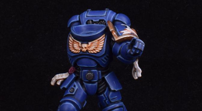 Ultramarines Kill Team Sergeant