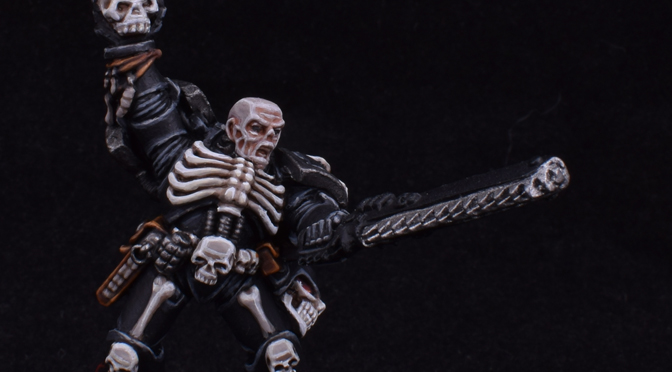 Legion of the Damned Sergeant Centurious – WIP 1
