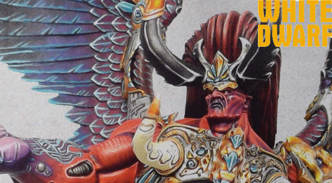 Magnus the Red – White Dwarf's model of the month!
