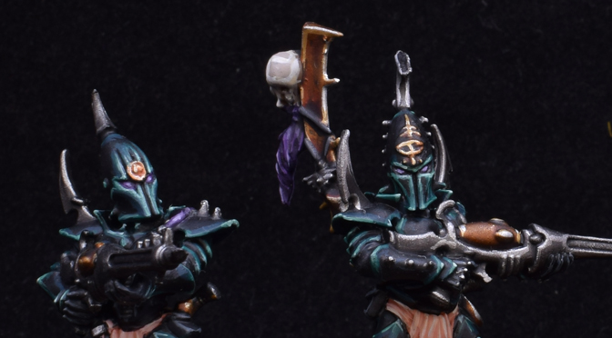 Dark Eldar Kabalite Squad