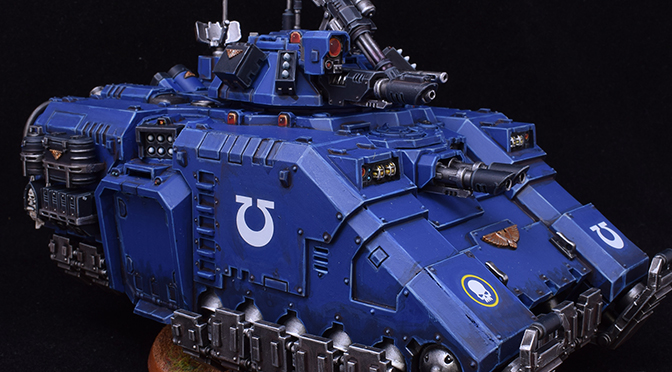 Ultramarines Repulsor Tank