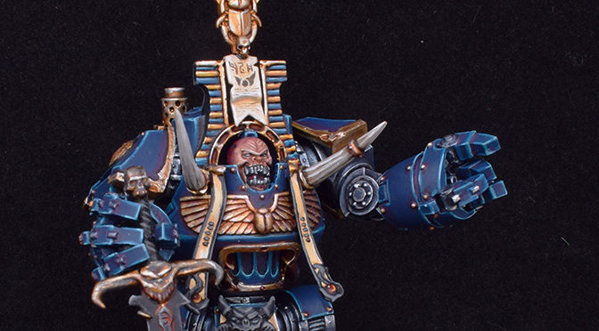 Thousand Sons Psychic Dreadnought (Daemon Prince)